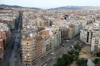 Barcelona from Sagrada Familia