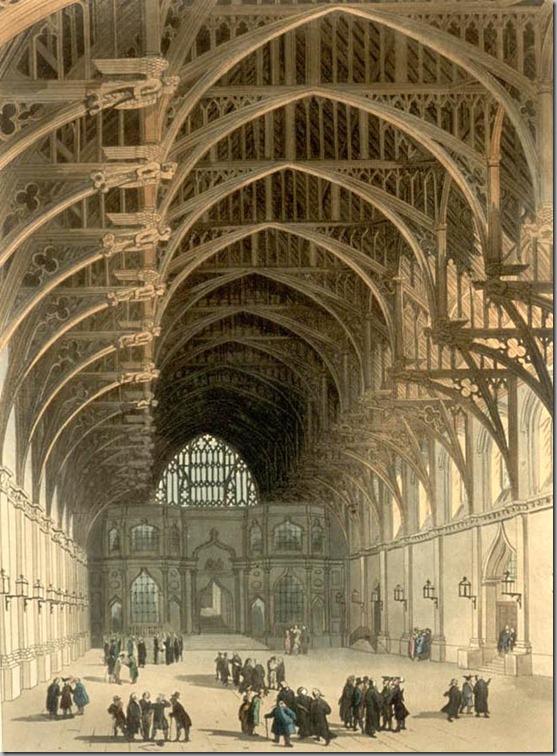 hammerbeam ceiling Westminster_Hall