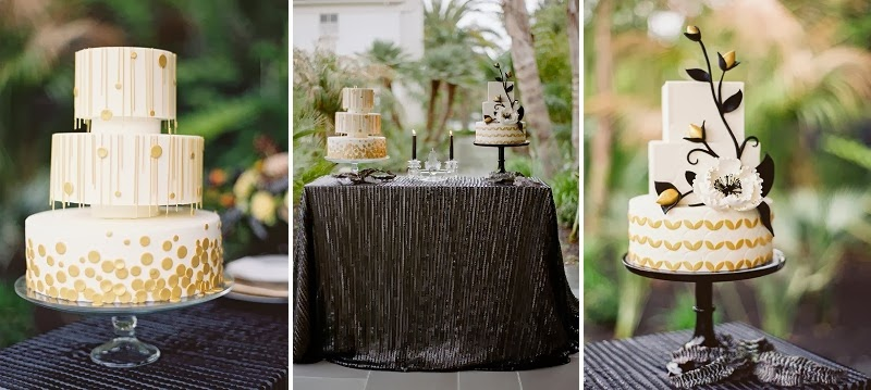 31 Oak and the Owl _ Art Deco Wedding Cakes