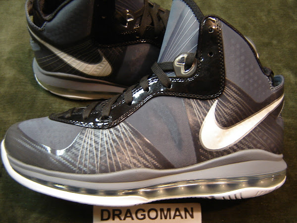 Nike LeBron 8 V2 Cool Grey Sample Featuring Old LBJ23 Logo