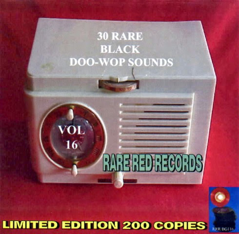Rare Black Doo-Wop Sounds Vol. 16 - 31 - Front