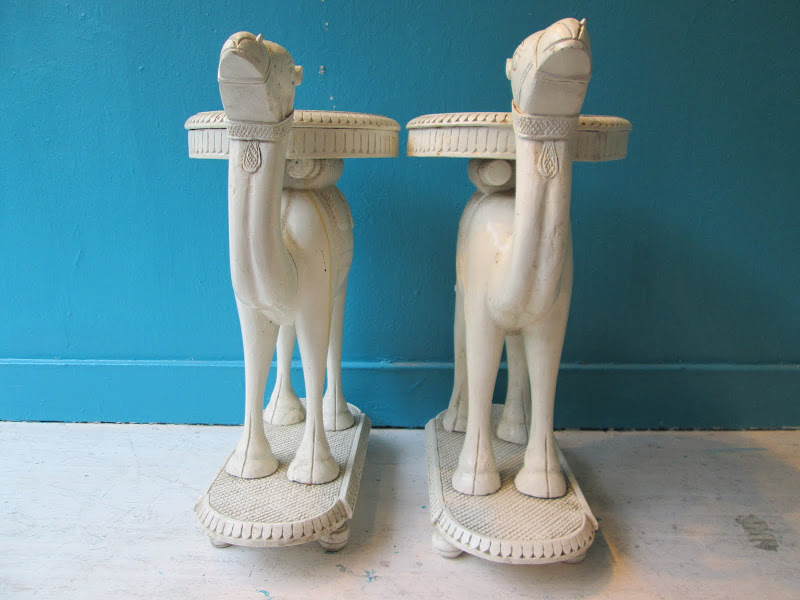 Camel Sidetable Pair