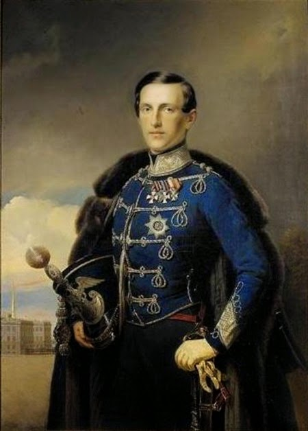Grand_Duke_Konstantin_Nikolayevich_-_Russian_School_-_1851