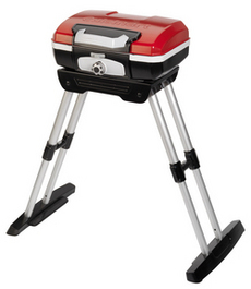 This new Cuisinart model has expandable legs which makes it the perfect grill for to take down to the beach. (cuisinart.com)
