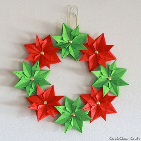 Christmas decorating cook clean craft for How to make paper christmas decorations at home