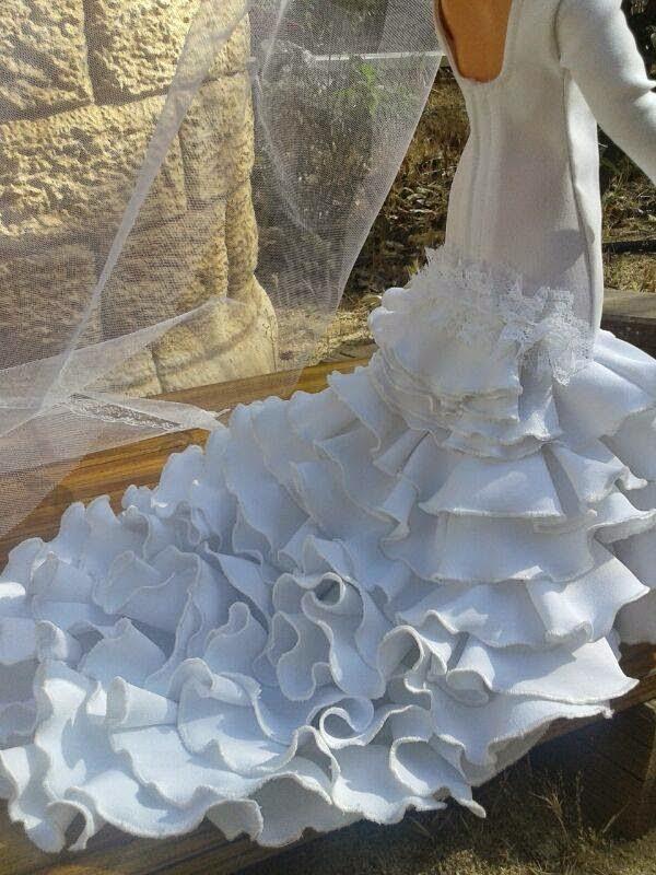 vestido novia bata de cola – vestidos largos