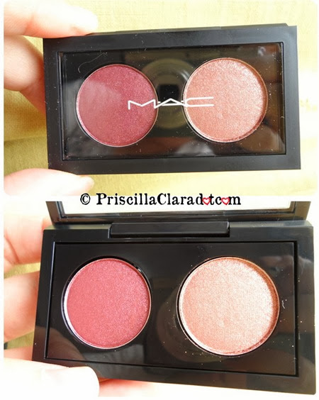 Priscilla haul MAC Cranberry Mythology eyeshadow