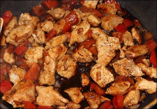 Balsamico-Paprika-Hähnchen 4