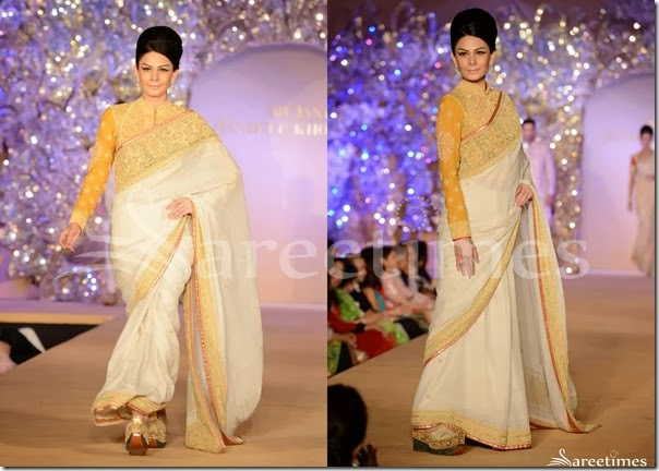 Abu_Jane_Sandeep_White_Saree