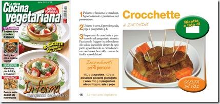 grazie ai numerosi voti ricevuti su facebook per questa deliziosa ricetta delle crocchette di zucchine abbiamo vinto il contest di la mia cucina
