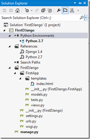 python-environment-visual-studio