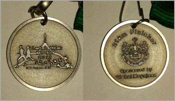 Larian Hijau Medal