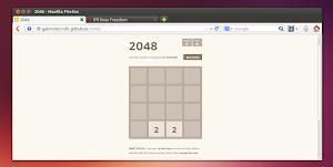 2048 in Ubuntu Linux