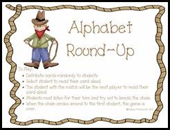 alphabet Round Up