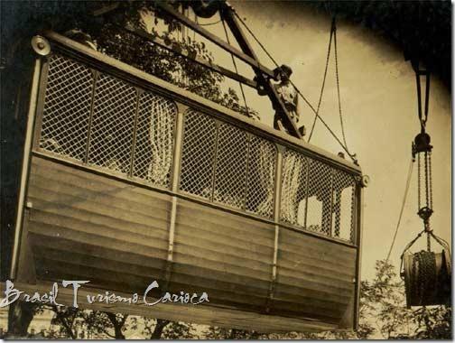 bondinho pao de acucar 1912 - 2