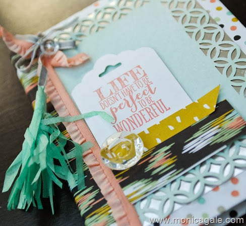 SStampin'Up! Sweet Sorbet album  www.monicagale.com-