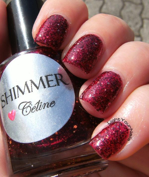 Shimmer Polish Celine