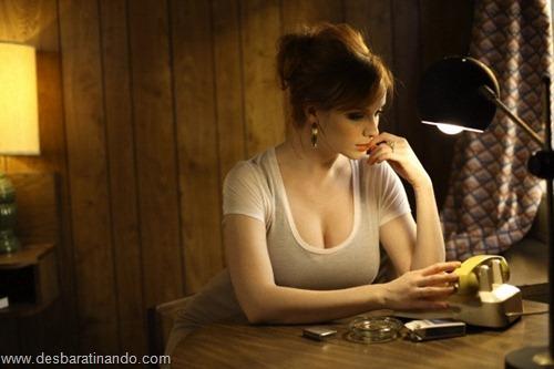 Christina Hendricks linda sensual sexy sedutora decote peito desbaratinando (46)
