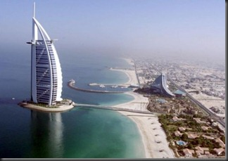Aerial-view-luxury-Burj-Al-Arab