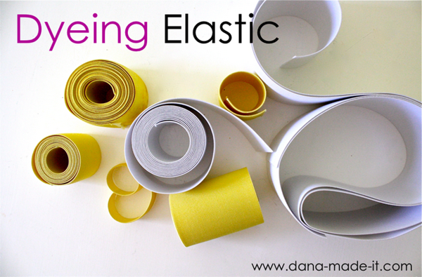 dyeing elastic crafty tip
