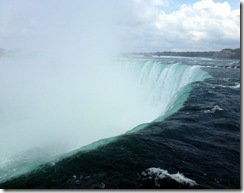 Top of Horseshoe Falls-Canada