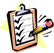 checklist clipart