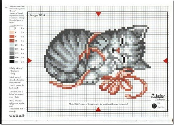 gatos-esquemas-ponto-cruz-motivos-cats-cross stitch-103