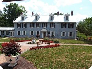 Milton Hershey's boyhood home