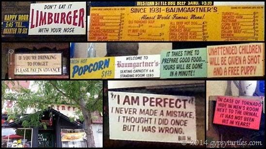 Baumgartner's Signs