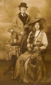 1982 Gary & Deb cropped