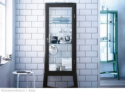 Wonenonline ikea lanceert bijzondere nieuwe producten for Ikea vetrine in vetro