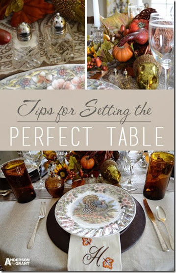Setting the Table Title Picture