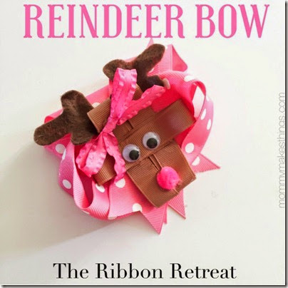 Reindeer-Hair-Bow
