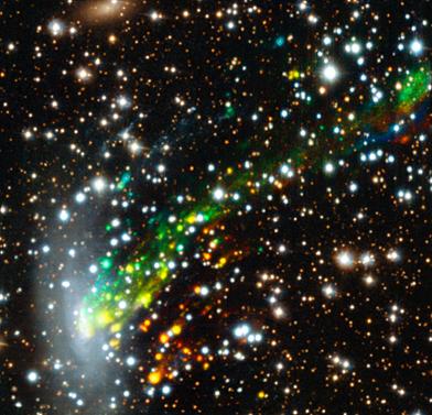 galáxia ESO 137-001