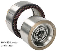 Remy is developing a non-rare earth version of its power-dense HVH motors designed to complement the existing product line -- the more economical motors will fit in the same packaging and use the same vehicle mounts.