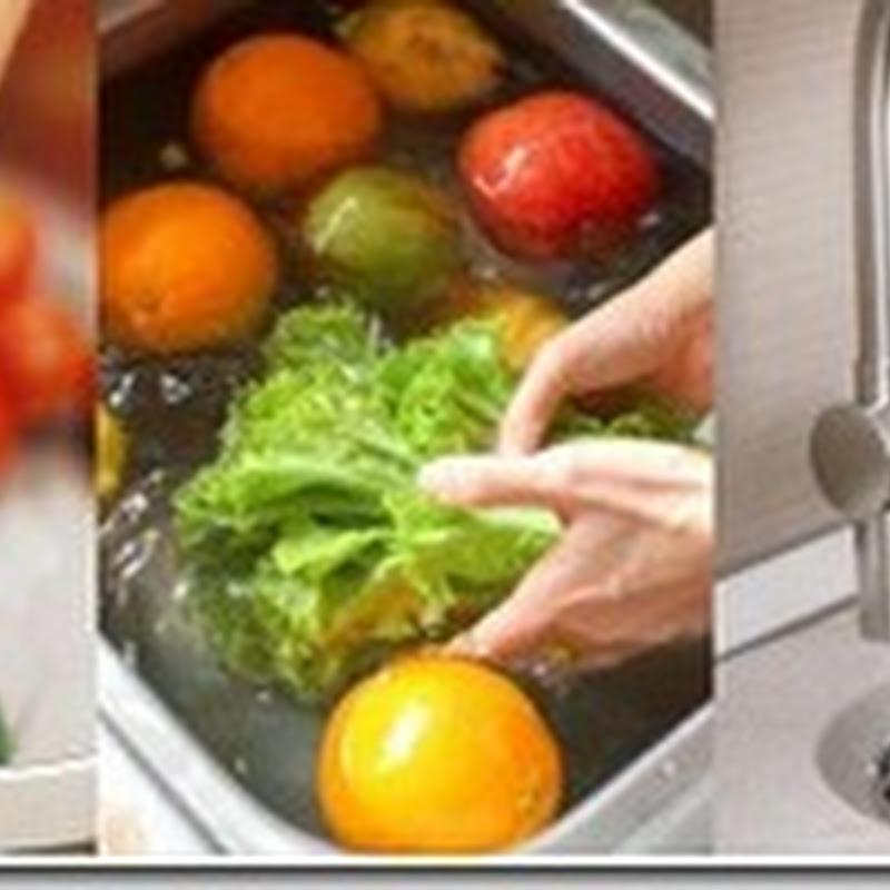 كيف تغسل الخضار والفاكهة دون ان تفقد قيمتها الغذائية؟