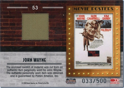 2009 Donruss Americana Wayne Relic 33 of 500