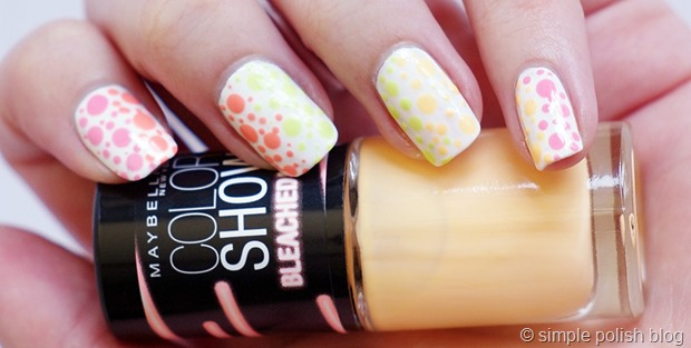 Maybelline-Bleached-Neons-Polka-Dots-2