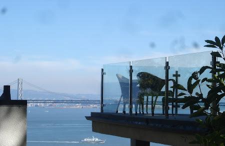 Vacanta San Francisco: Asa da balcoane....
