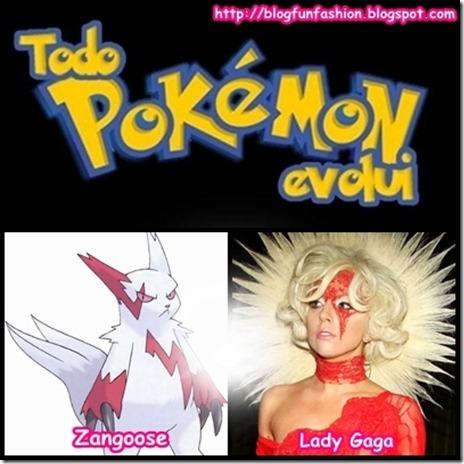 Todo pokemon evolui gaga zangoose