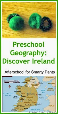 Preschool Geography Ireland