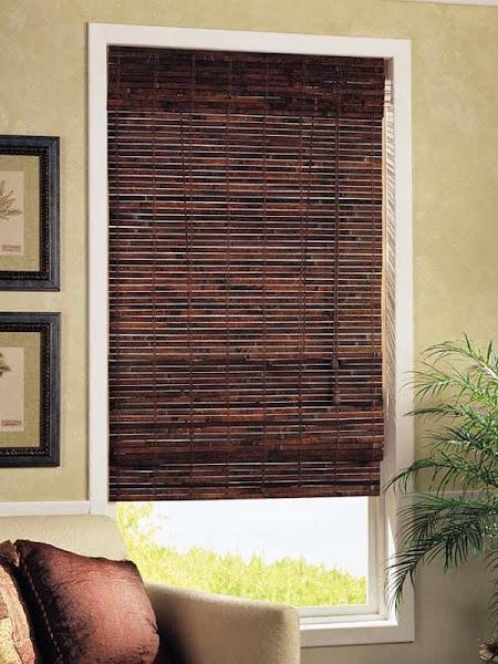 Bamboo Woven Roman Shade BM05  Bamboo Roman Shades