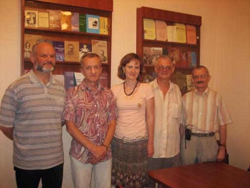 20 червня Інститут Івана Франка відвідав Борис Щавурський, поет і редактор із Тернополя.
