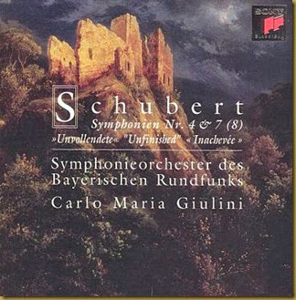 Schubert sinfonias Giulini Sony