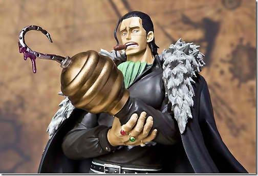 海賊王(航海王)公仔 七武海 沙鱷魚-克洛克達爾 Mr.0