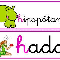 Palabras con H
