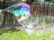 Really big bubble
