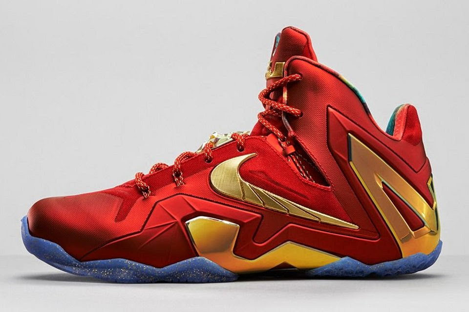 release reminder nike lebron 11 elite se red amp metallic
