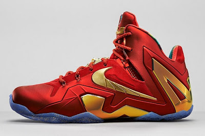 nike lebron 11 ps elite championship pack 2 03 Release Reminder: Nike LeBron 11 Elite SE Red & Metallic Gold