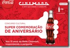 cocacola cinemark 1ano cinema gratis